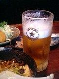 今日のライブ前ビール!