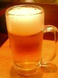 恒例セッション前二百円ビール