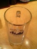 ライブ前ビール    のジョッキ