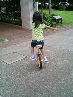 一輪車自由自在