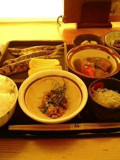 恵比寿 ととや市場 結 究極の和食・日本の昼ご飯
