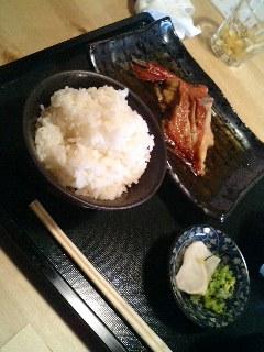 渋谷 みらい の きんき煮付け
