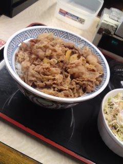 青山一丁目 吉野家 牛丼