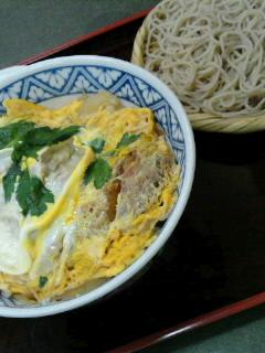 カツ丼蕎麦セット リベンジ