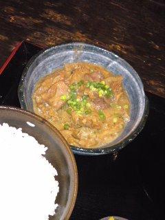 渋谷 博多木村屋 もつ煮込み定食