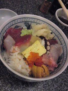 銀座 石松亭 海鮮丼